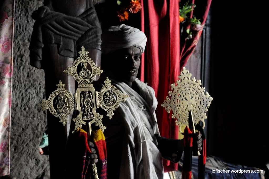 Priester in Äthiopien