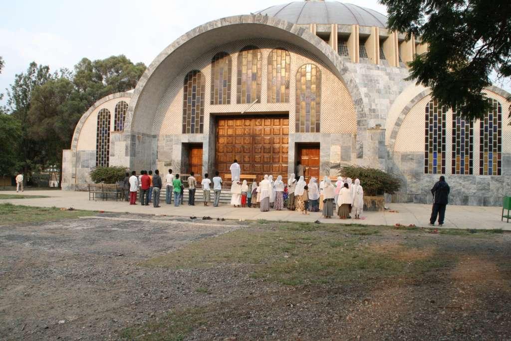 Mary von Zion Kirche in Axum, Äthiopien