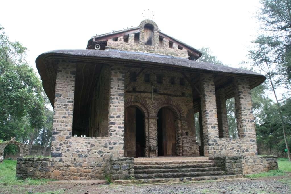 Debre Birhan Selasie Kirche, Gondar, Äthiopien